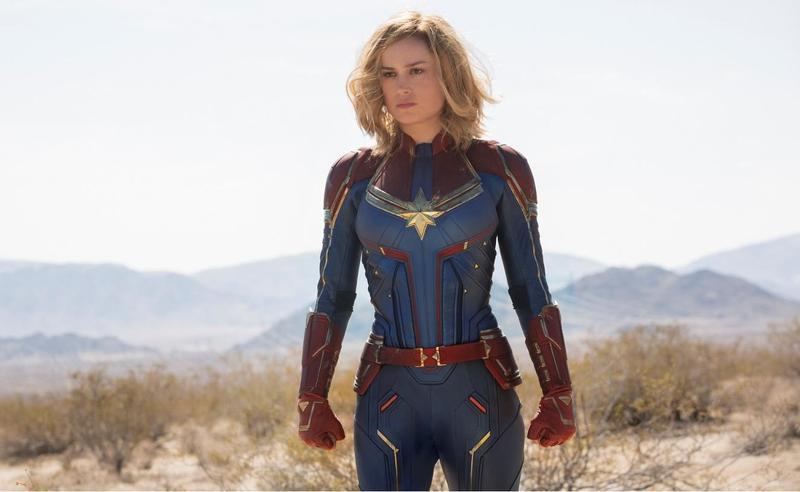 布麗拉森飾演的驚奇隊長將是未來10年漫威宇宙的靈魂人物,也是復仇者們能擊敗薩諾斯的關鍵。(迪士尼提供)
