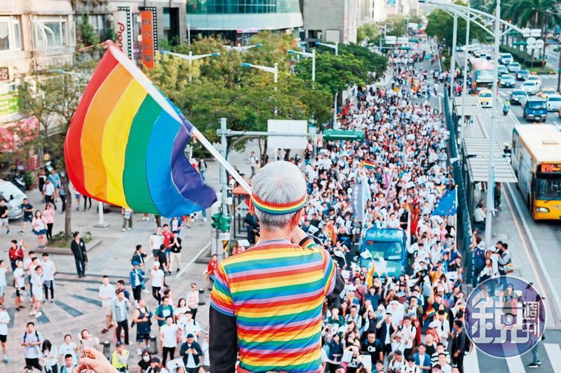 婚姻平權大平台喊話,盼立委理解同志家庭卑微請求,通過能夠符合釋憲的法案。
