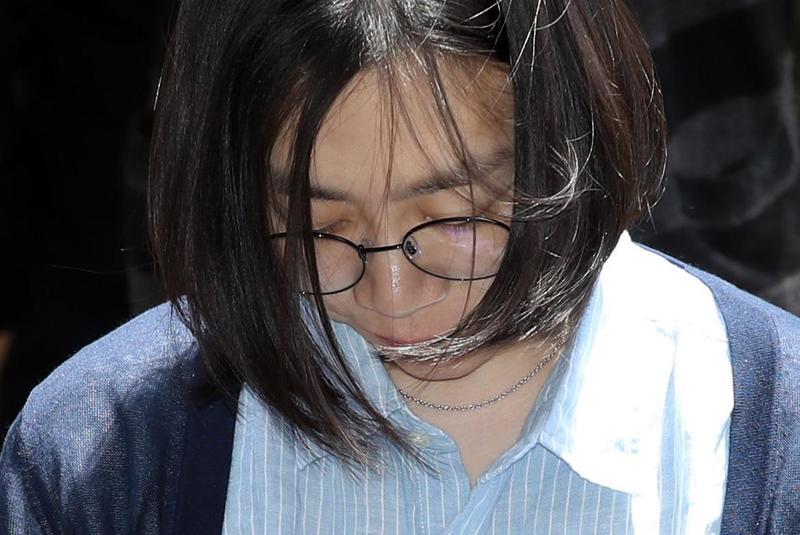 大韓航空千金趙顯娥因多次公然施暴行為而知名度大開。(東方IC)
