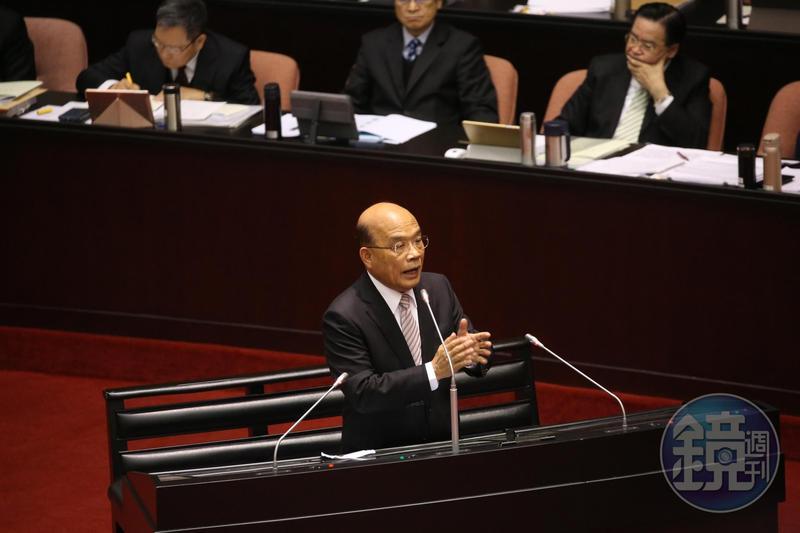國民黨不斷提議簽署兩岸和平協議,行政院長蘇貞昌回應:英國簽了,還不是換來戰爭,有歷史借鏡不要重蹈覆轍。