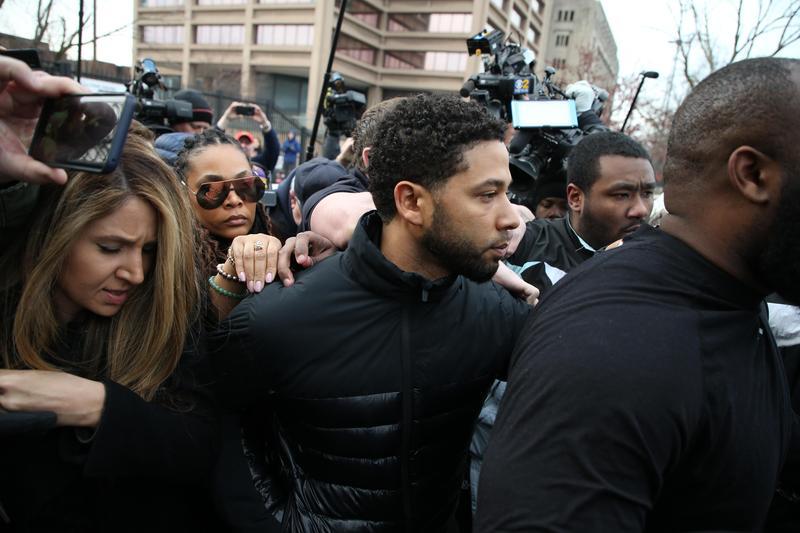 美國男演員Jussie Smollett買凶攻擊自己,挑起種族對立,來拉抬自己聲勢。(東方IC)