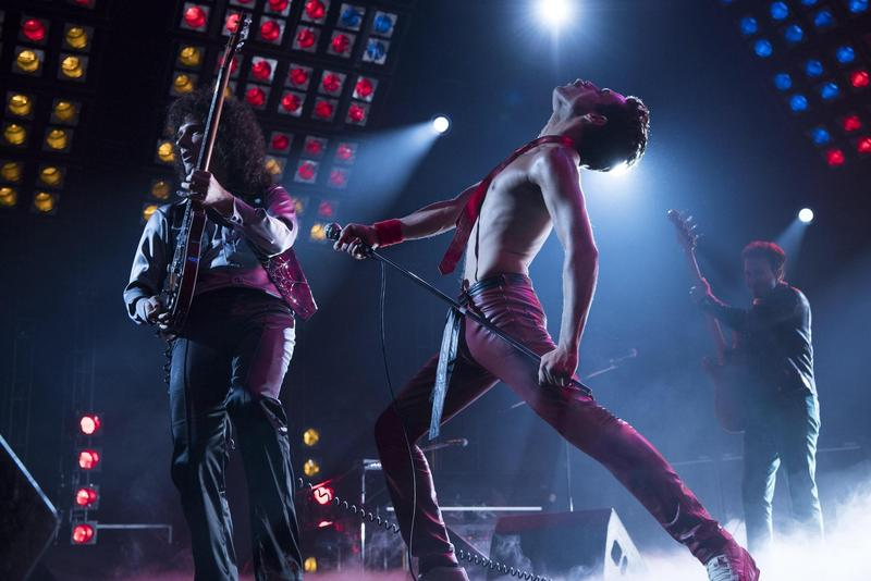 《波希米亞狂想曲》在全球創下200億台幣票房,飾演皇后合唱團主唱佛萊迪的雷米馬利克是奧斯卡影帝大熱門。(福斯提供)