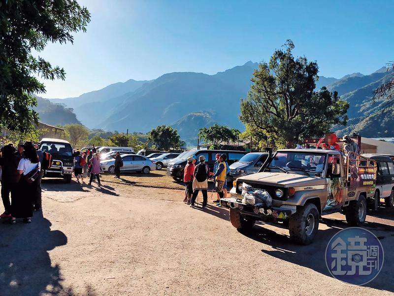 野溪祕境哈尤溪暴紅,每日限定200人的員額,3月底前已爆滿。