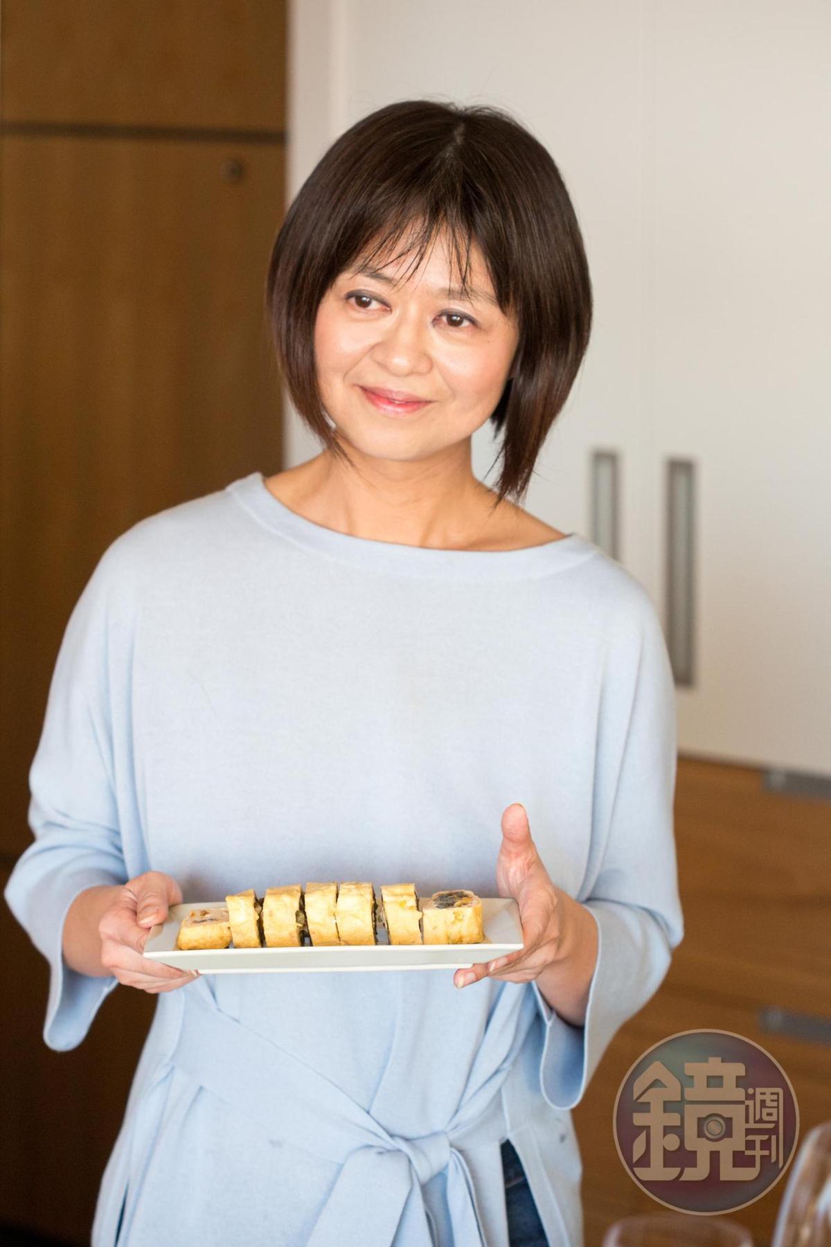飲食生活作家葉怡蘭把日日三餐過得有美感。