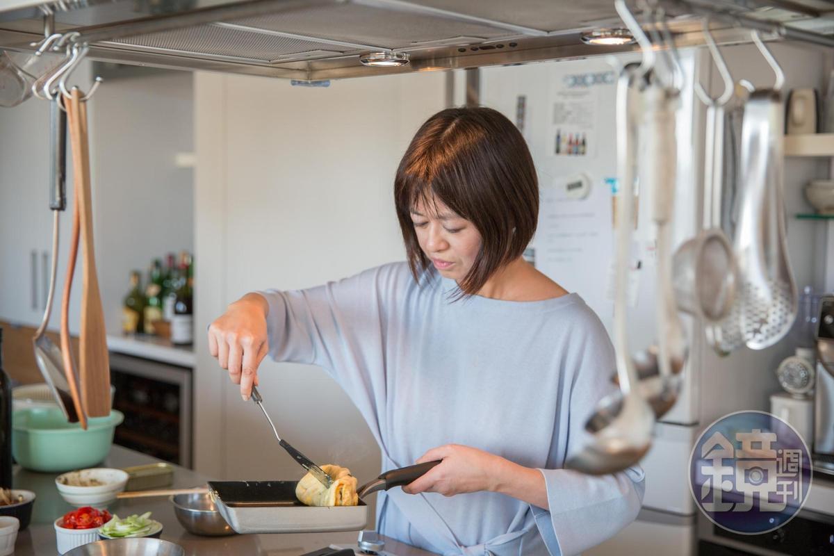 葉怡蘭認為,動手料理、好好吃飯,是選擇想理生活的實踐方式。