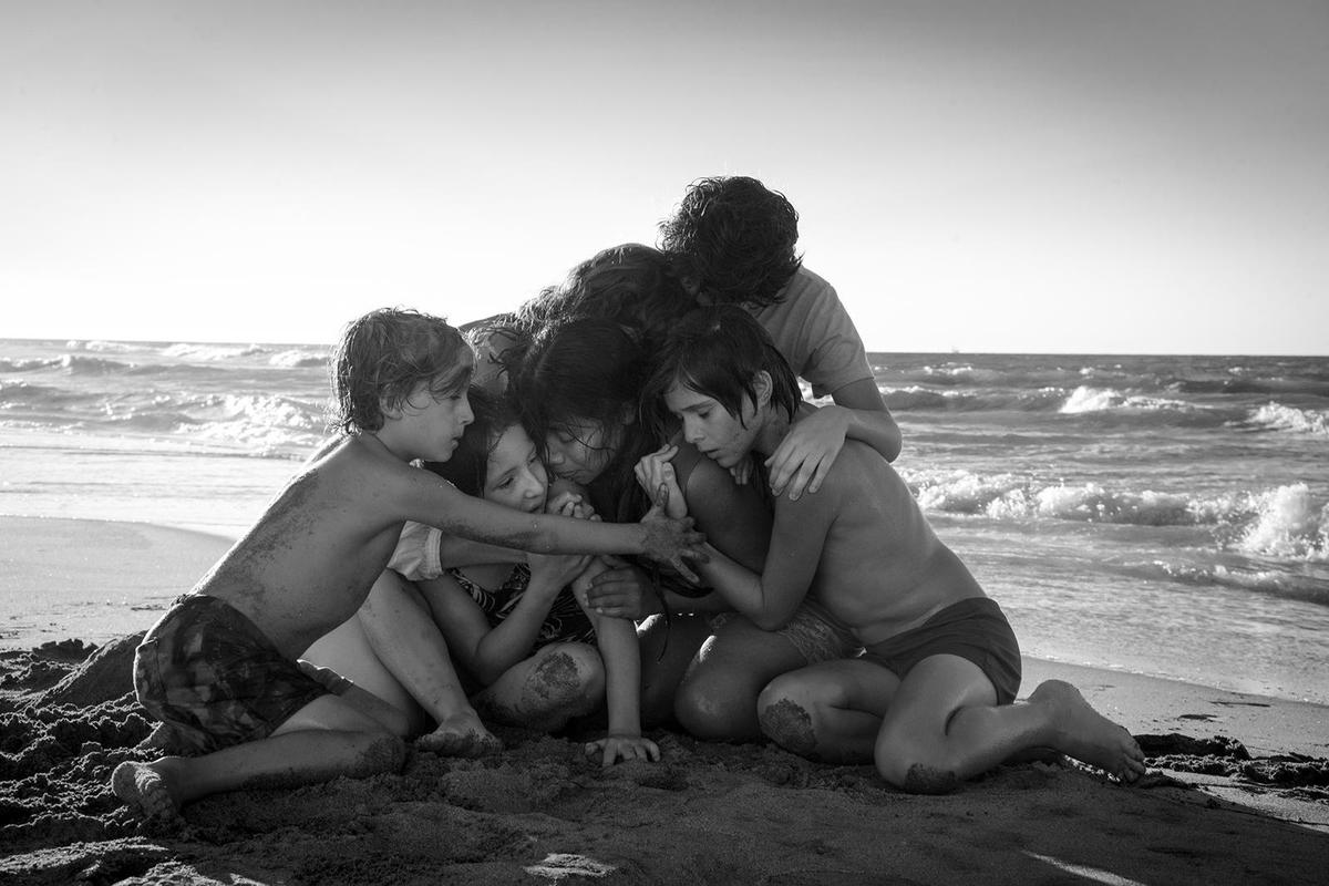 《羅馬》廣被看好有望奪最佳影片,但止步最佳導演及外語片獎項。(Netflix提供)