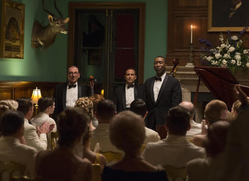 馬赫夏拉阿里(右一)在《幸福綠皮書》飾演唐薛利拿到最佳男配角,也承認演出時對他的瞭解並不夠多。(威望國際提供)