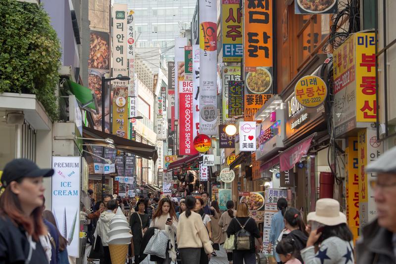 台韓互訪人數去年突破200萬人。(東方IC)