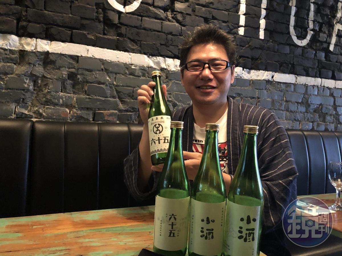 陳韋仁對釀酒十分執著,也是第一位獲得日本國家檢定「酒造技能士」的台灣人。