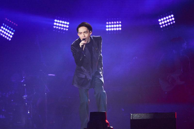 四月時,林宥嘉將繼續展開《idol》世界巡迴演唱會。(華研唱片提供)