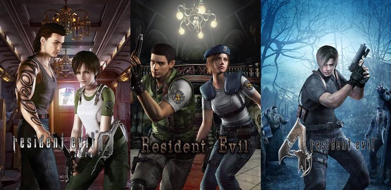 《惡靈古堡重製版》《惡靈古堡 0》以及《惡靈古堡 4》NS版將會在5月發售。(翻攝自CAPCOM Asia)