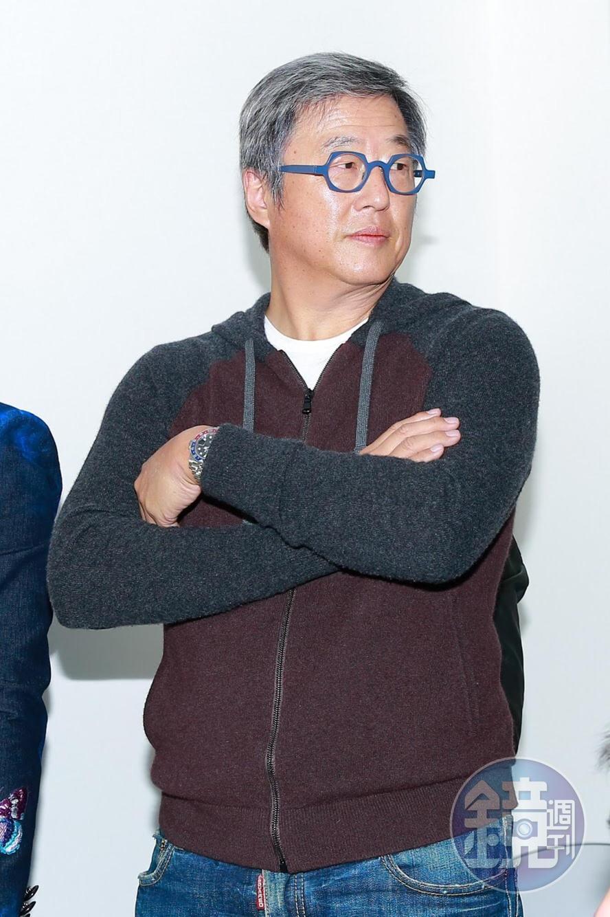 王偉忠今在記者會上現身,對Gail的實力十分有信心。