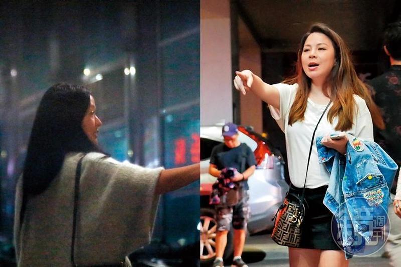 名媛楊秀容(右)在IG上自爆婚變,閨密孫芸芸(左)不忘陪伴在身邊慶祝她生日。