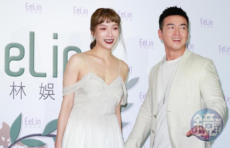 藝人蔡淑臻與李沛旭曾是網友公認看好結婚的演藝圈情侶,未料李沛旭今在臉書證實分手消息。