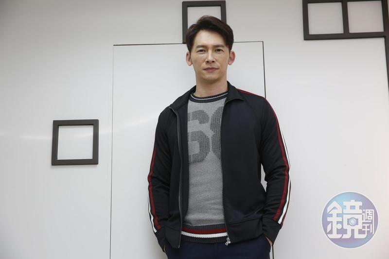 溫昇豪今(4日)出席由公視、CATCHPLAY、HBO Asia《我們與惡的距離》媒體聯訪。