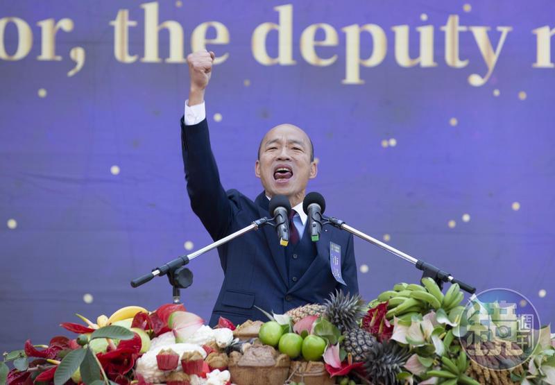 韓國瑜近日拜會中聯辦官員及國台辦主任等人,都讓外界引發「賣台」疑慮,甚至有網友直呼「亡國感好重」。(本刊資料照)