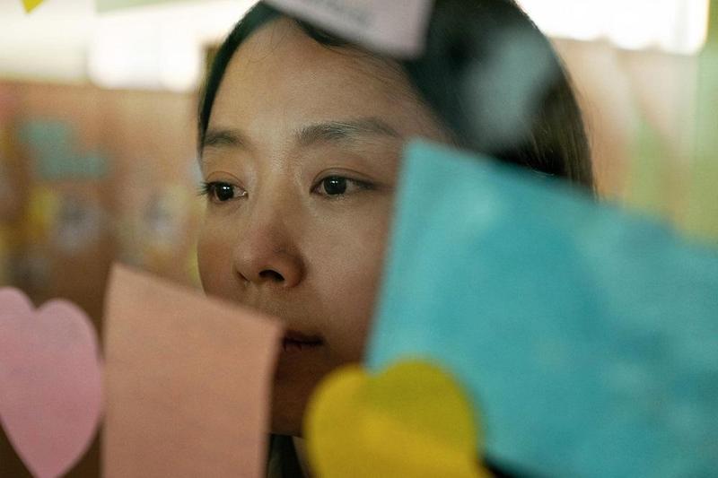 韓國大滿貫影后全道嬿在《沒有你的生日》飾演失去孩子的母親。(車庫娛樂提供)