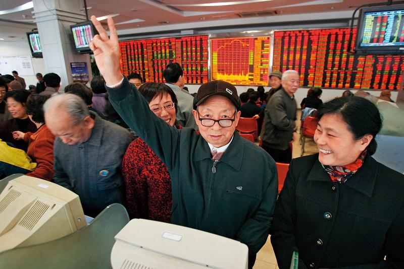 陸股在滬港通、深港通的北上資金推動下,短短2個月大漲逾2成。(東方IC)