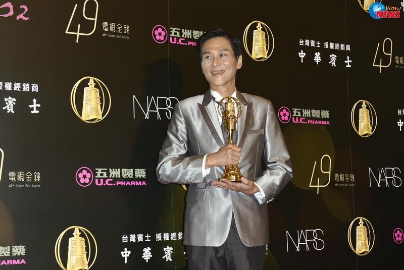 喜翔算是天才型演員,曾經拿過3座金鐘獎。(翻攝自喜翔臉書)