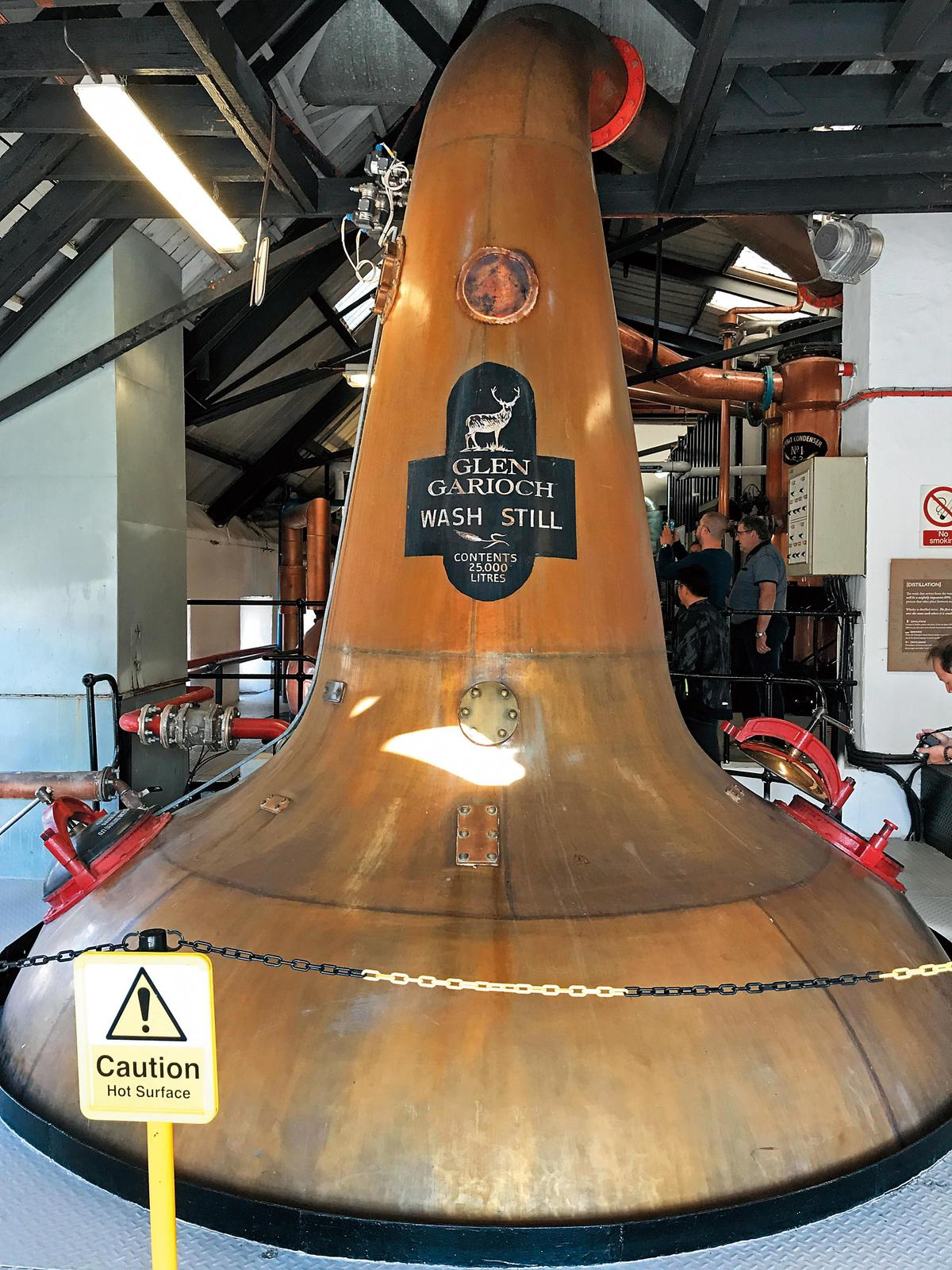 格蘭蓋瑞酒廠的產能不大,大約年產130萬公升。