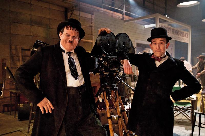 《喜劇天團:勞萊與哈台》是部暖心小品,電影展示了拍檔間的默契與友誼,演員的演出也活現了本尊的風采。(采昌提供)