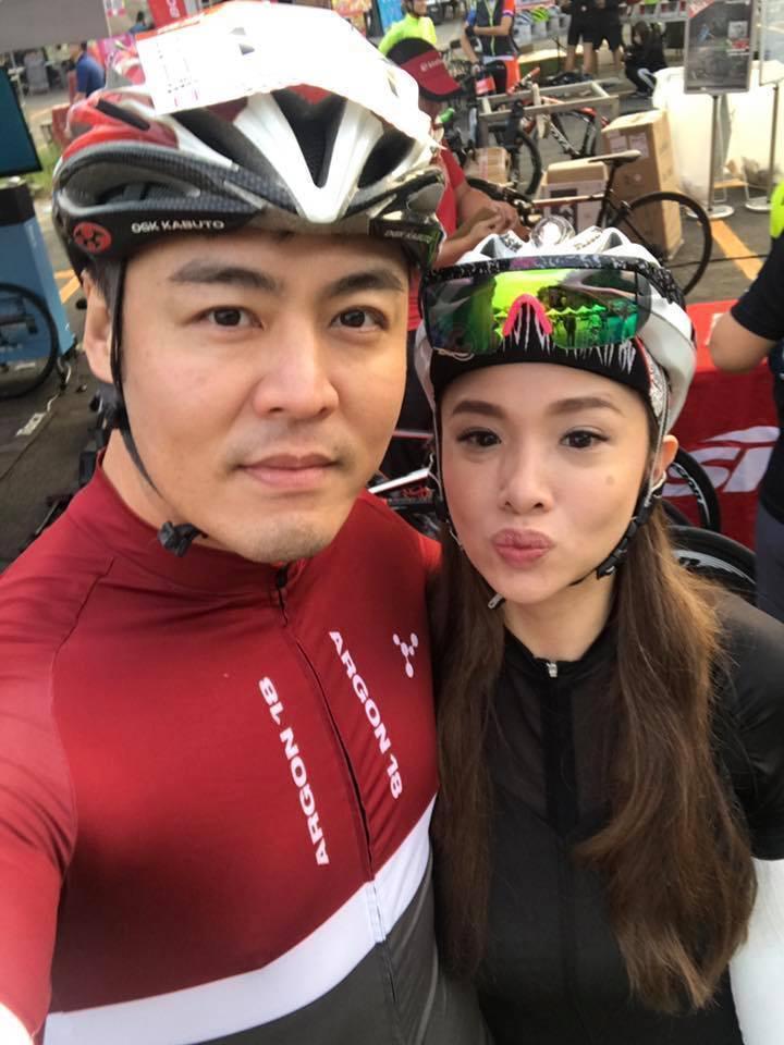 Vivian和劉至翰關係不錯,即使離婚了也還是好朋友。(翻攝自劉至翰臉書)