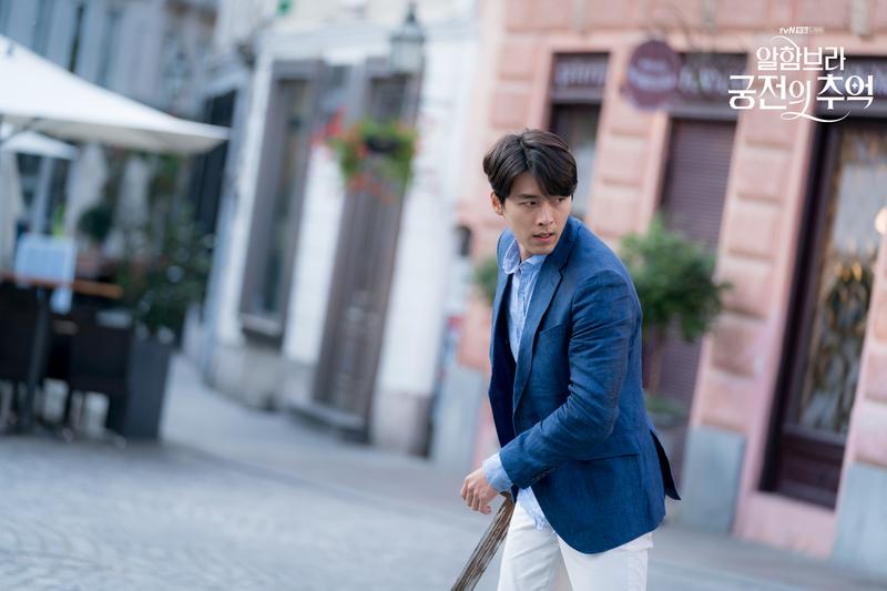 炫彬去年底主演tvN電視劇《阿爾罕布拉宮的回憶》,成功擄獲眾多女性觀眾的心。(Netflix提供)