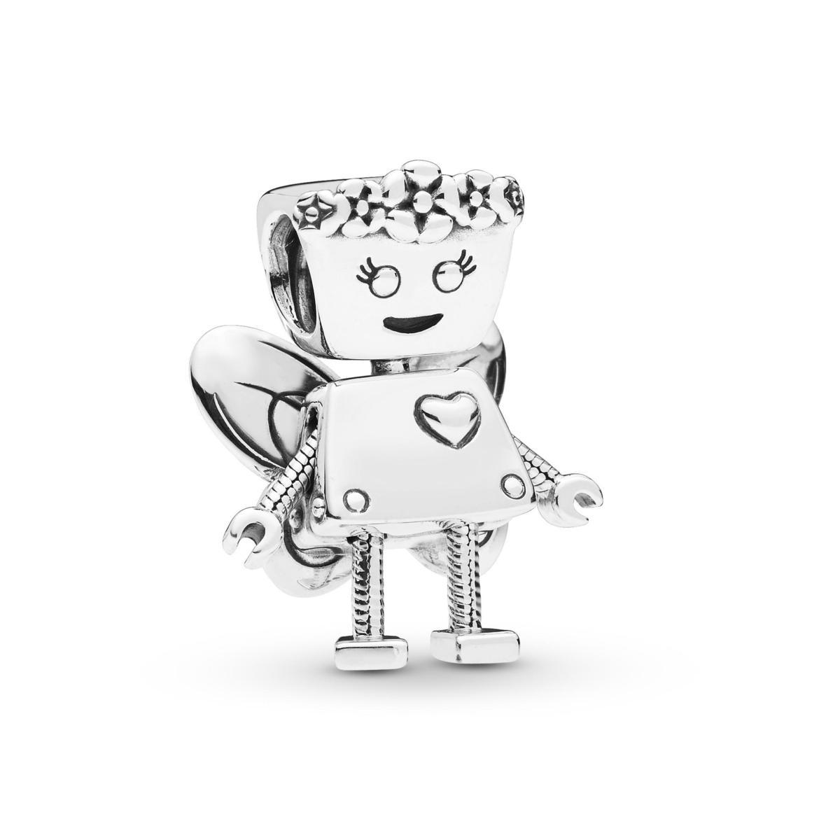 PANDORA Friends花仙子Bella機器人串飾,NT$2,880。(PANDORA提供)
