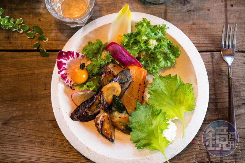 「RK Garden」餐點雖然簡單,但口味實在好。