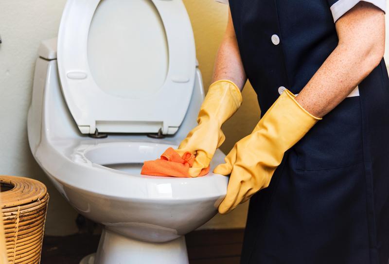 專家指出,在馬桶上鋪衛生紙並無法有效隔離細菌,反而可能更髒。(翻攝自pexels)