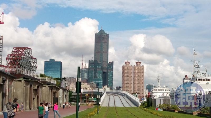 高雄地標85大樓法拍案,由海霸王54億搶下34及35樓、與37至85樓。