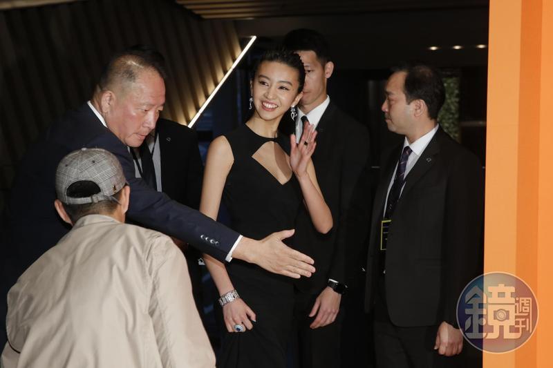 Kōki出席微風南山藝文展演中心展出的Wild Pop頂級珠寶展,為時30分鐘,由品牌官方提問六個問題。