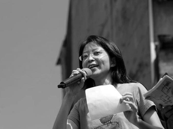 長期關注廢死議題的作家、社會運動者張娟芬。(翻攝自北藝大文學跨域創作研究所官網)