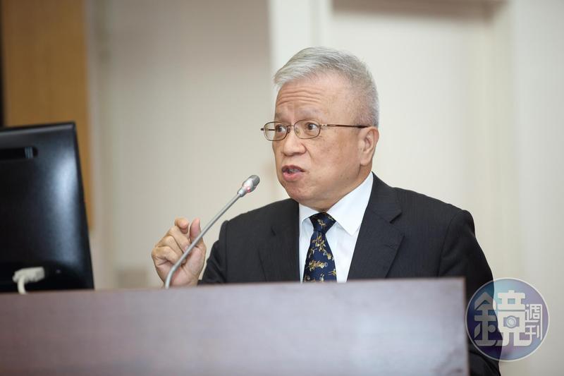 央行副總裁嚴宗大對於徵工友事件說明。