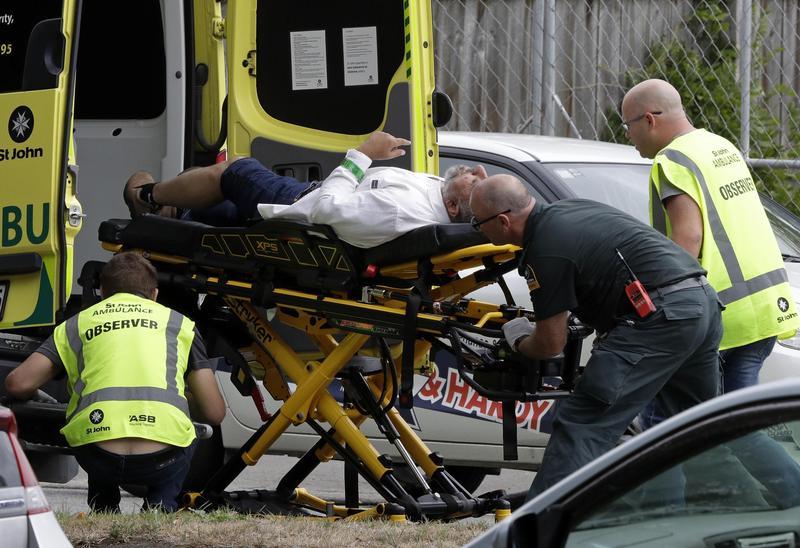 紐西蘭基督城發生血洗式槍擊案,清真寺內正在禱告的民眾遭到無差別攻擊。(東方IC)