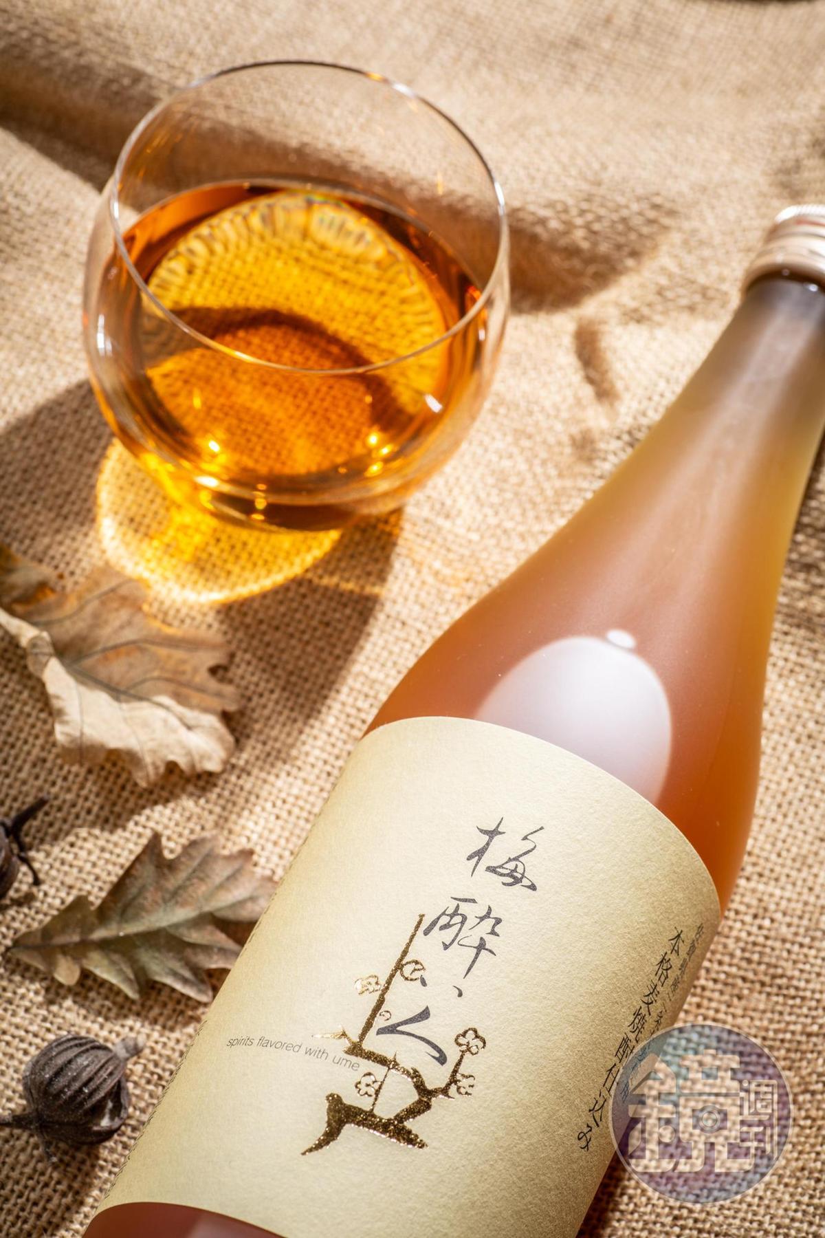 「宗政梅醉者梅酒」以本格麥燒酎Nonnoko當基酒,搭配佐賀青梅,使氣味芳香,甜中帶酸,還有燒酎的清冽口感。(990元/瓶)