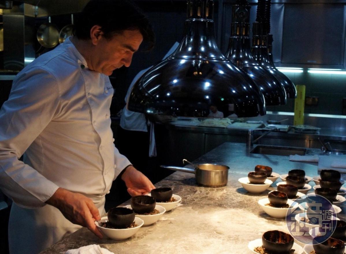 星級法廚亞尼克認為,頂級料理也要力行食材零浪費。