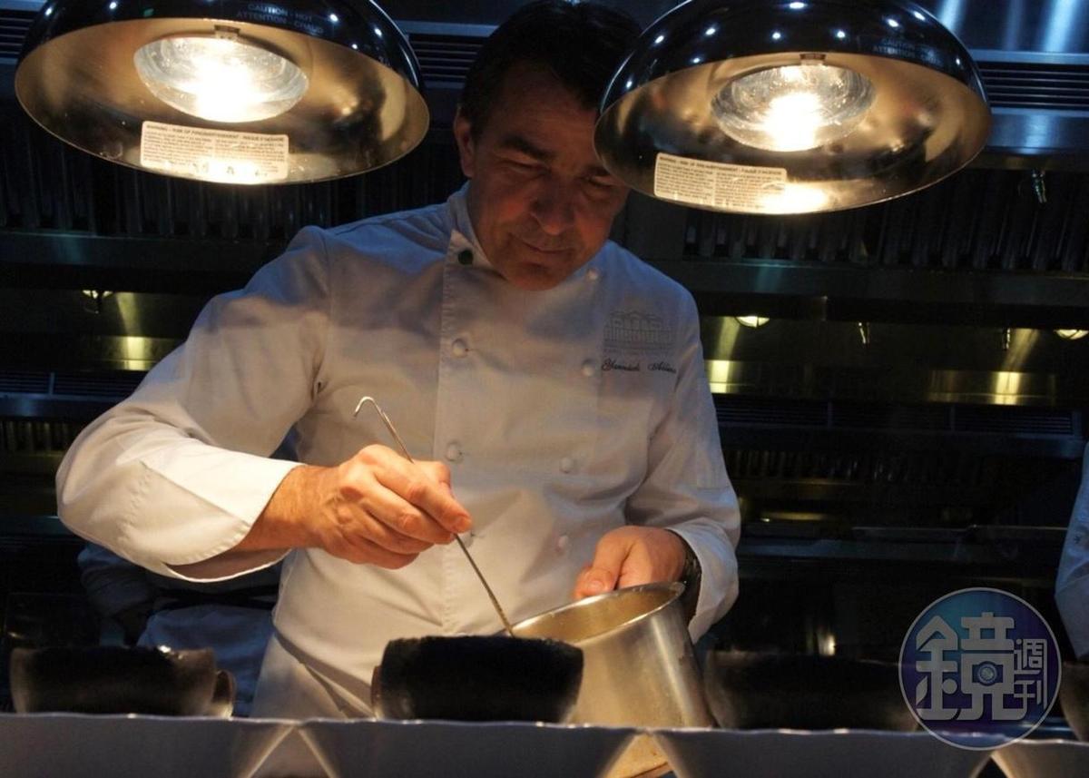 亞尼克說自己旗下餐廳都在力行全食材運用,推動減少剩食料理概念。