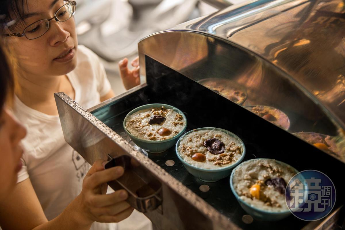 傳香碗粿早鳥限定,常不到中午就售罄。