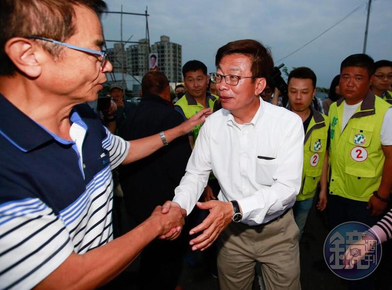 郭國文宣布勝選時說,他的勝選代表台南市還是台灣的民主聖地。