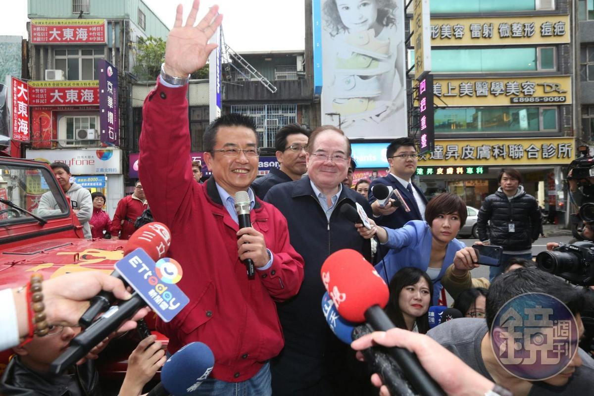國民黨候選人鄭世維宣佈敗選,感謝所有選民支持。