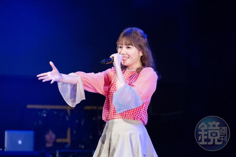 日本歌姬 MACO在台灣舉行首次個人演唱會。
