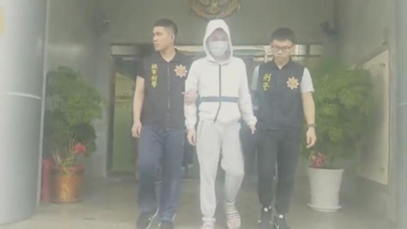 刑事局逮捕涉嫌詐騙獨居老人的鄭姓主嫌。(刑事局提供)
