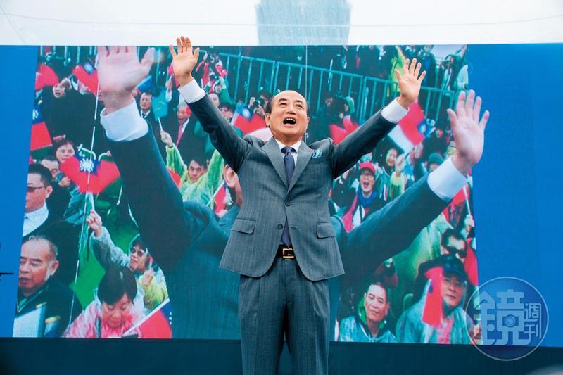 今年3月,王金平在國際會議中心頂樓舉辦參選總統的宣示大會,場面浩大,頗有公道伯大會諸侯的意味。