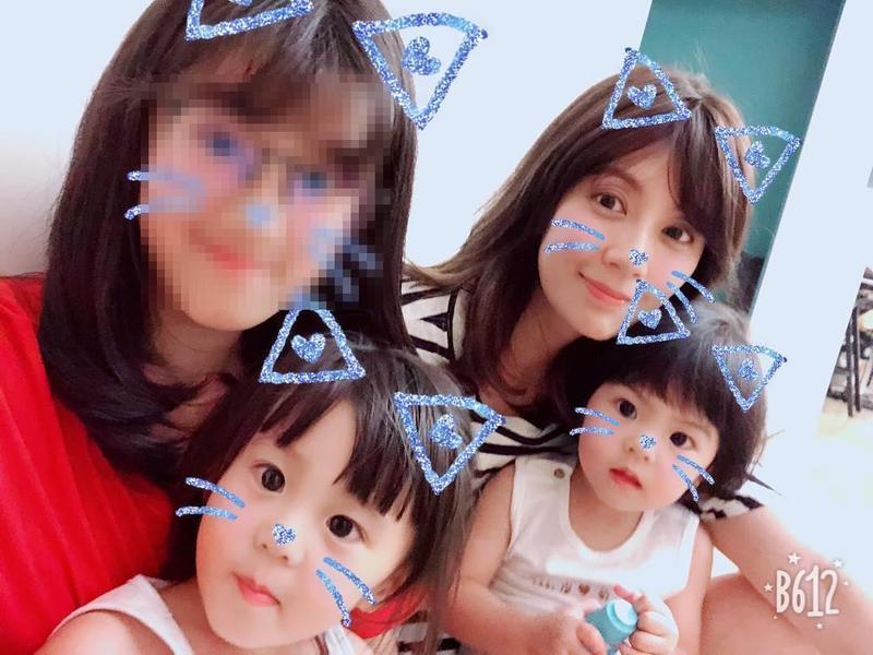 44歲賈靜雯育有3名可愛的女兒,15日才剛替是小女兒Bo妞慶祝2歲生日。(翻攝自梧桐妹IG)