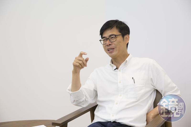 行政院副院長陳其邁今在臉書上表態「支持蔡英文總統連任」,認為不只為民進黨,更為了台灣,最重要的就是團結。