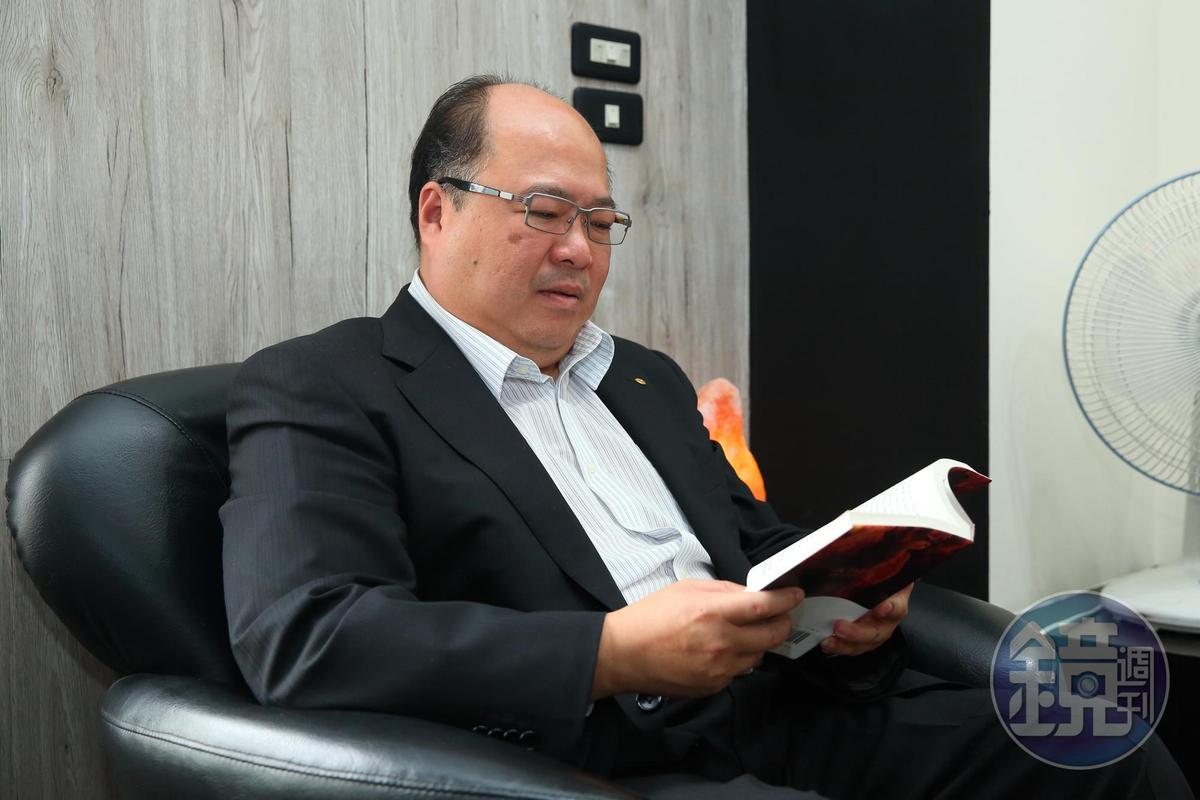 學生時期常翹課的林永祥,卻是班上去圖書館借書率最高的一個。他最喜歡看成功人士的傳記。現在仍有閱讀習慣。