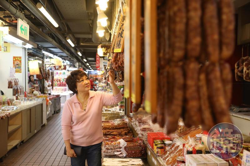 台北「南門市場」倒數拆遷,形容「南門市場是媽媽的市場」的傅培梅女兒程安琪覺得很不捨。