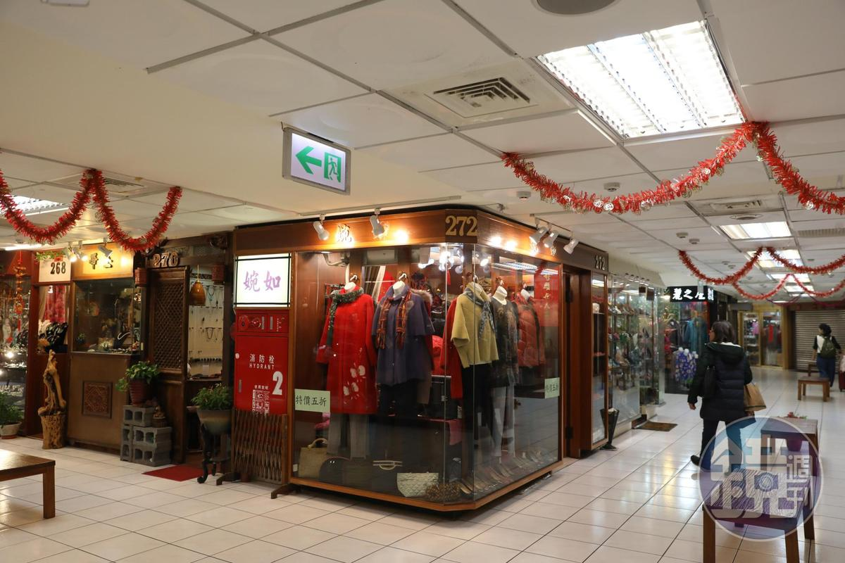 南門市場2樓規劃為百貨服飾店及美食街。
