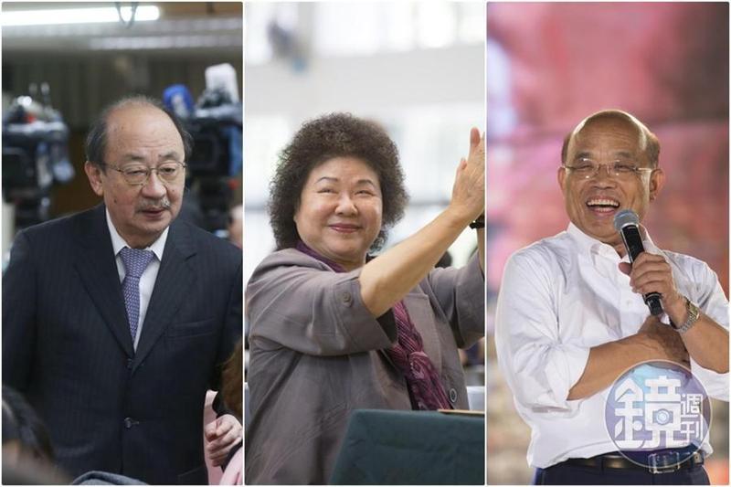 民進黨中常會今通過增聘2020大選提名策略顧問3人,由陳菊、蘇貞昌和柯建銘擔起大任。